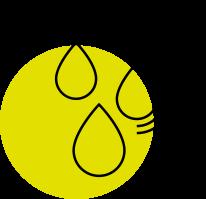 Krople - ikona