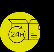 Punkt odbioru przesyłek - ikona